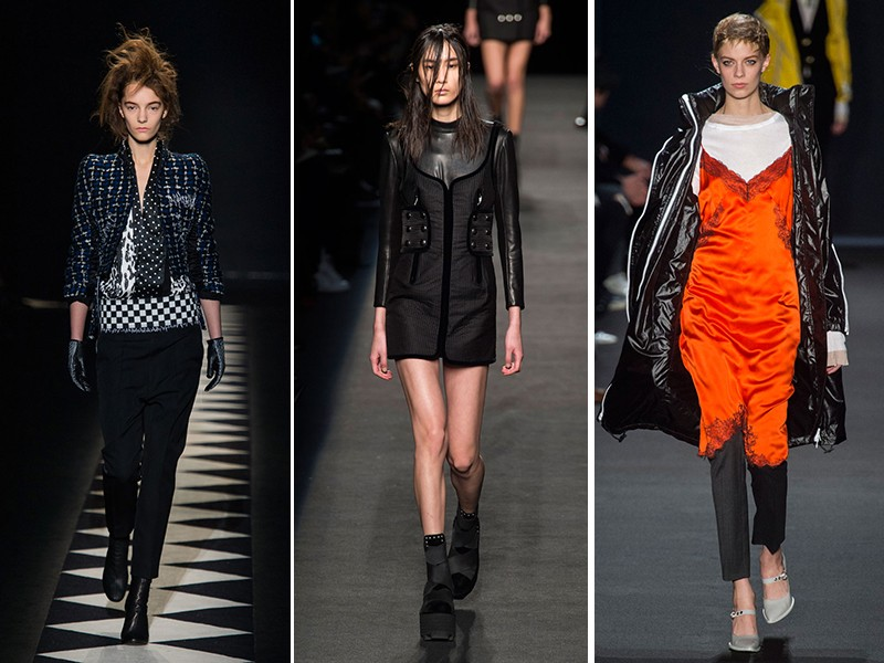 Toque urbano: Haider Ackermann, Alexander Wang e Rag and Bone (Foto: Imaxtree)